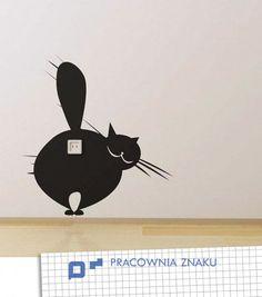Naklejki na ścianę_Trzy koty (proj. Pracownia Znaku)