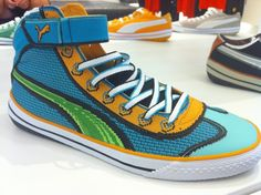 Awesome Puma shoes, to colorful for me, otherwise the would have ended up in my wishlist.
