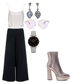 A fashion look from September 2017 featuring white shirt, elastic waist pants and high heel booties. Browse and shop related looks. Alexandre Birman, Jean Paul Gaultier, Christian Dior, Polyvore, Collection, Fashion, Moda, Fashion Styles, Fasion
