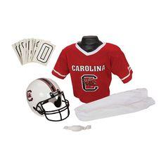 Franklin Ncaa South Carolina Gamecocks Deluxe Football Uniform Set, Boy's, Size: Medium, Multicolor