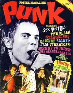PUNK Poster Magazine, London,1977