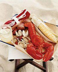 Nantucket clambake