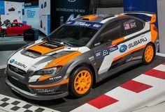 Japanese 2015 Subaru WRX STI Rallycross