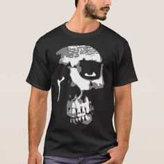 Smoking skull T-Shirt - retro gifts style cyo diy special idea Retro Gifts, Retro Outfits, Tshirt Colors, Retro Style, Vintage Style, Shirt Style, Fitness Models, Your Style, Shirt Designs