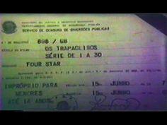 OS TRAPACEIROS (SÉRIE DE TV 1964) - TRECHO E ABERTURA EM 16MM / DUBLAGEM...
