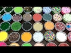 DIY Combine All the Colors Slime Big Waterclay Learn Colors Slime Clay - YouTube