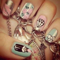 OMG going to have to do these nails!