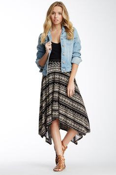 Sharkbite Print Skirt | Nordstrom Rack