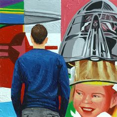 James Rosenquist daily painting museum realism pop art G. Hyperrealism, Photorealism, Contemporary Abstract Art, Modern Art, Art Paintings, Painting Art, Figure Painting, Figurative Art, Art Day