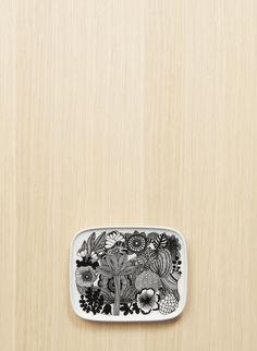 Oiva/Siirtolapuutarha  -lautanen 15x12 cm 17,50