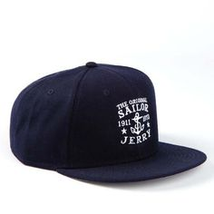 Snap Back Hat by Sailor Jerry - Navy