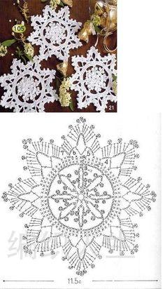 Crochet Knitting Handicraft: Search results for christmas Crochet Snowflake Pattern, Crochet Stars, Christmas Crochet Patterns, Holiday Crochet, Crochet Snowflakes, Crochet Flower Patterns, Crochet Mandala, Thread Crochet, Crochet Crafts