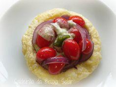 Tarteletes folhadas de tomates