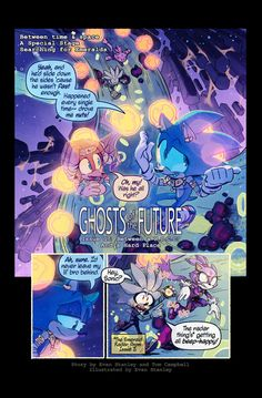Ghosts of the Future, Issue 17 Page 1. Good morning, have some Tails angst! As always, my co-writer Tom Campbell, A.K.A. Okida will be joining me in the comments section! He's very excited about th...