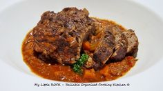 My Little ROCK – Reliable Organised Cooking Kitchen –Company Pot Roast– I'm not sure why Ina Garten titles her recipe company pot roast, to me thisdish is something I lov…