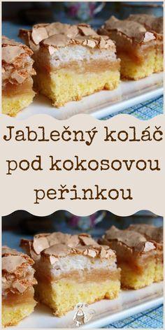 Jablečný koláč pod kokosovou peřinkou Cereal, Breakfast, Food, Morning Coffee, Essen, Meals, Yemek, Breakfast Cereal, Corn Flakes