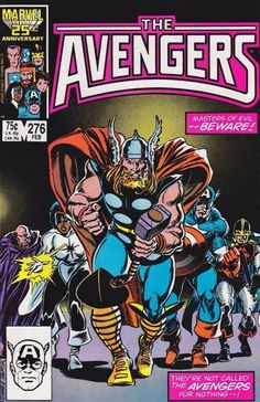 The Avengers #276 - Revenge (Issue)