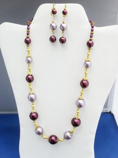 Elegant OOAK Gold stardust toggle purple lavender by ElmsRealm, $35.00
