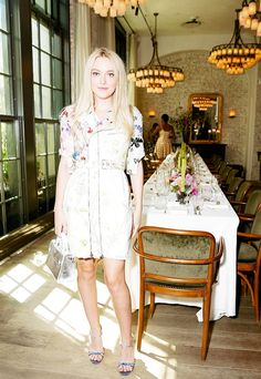 Dakota Fanning What They Wore: New York Fashion Week via @WhoWhatWear