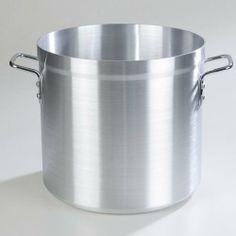 Carlisle (61232) - 32 qt Aluminum Stock Pot - http://cookware.everythingreviews.net/7639/carlisle-61232-32-qt-aluminum-stock-pot.html