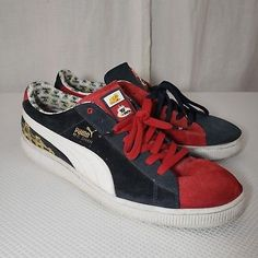 32cb5bce807d Puma Yo MTV Raps 14 MC Shan The Bridge Red Blue Sneakers 2007
