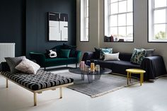 Find inspiration, ideas and advice for decorating your living room and lounge   Visit http://www.suomenlvis.fi/