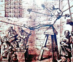Medieval torture devices found in many Roman Catholic church dungeons. Maleficarum, The Inquisition, Spanish Inquisition, Dark Ages, Roman Catholic, Gravure, Middle Ages, Renaissance, Weird
