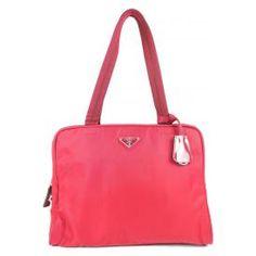 Vintage Prada Shoulder Bag, Red