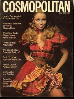 Cosmopolitan magazine, MAY 1970 Model: Jill Bleidner