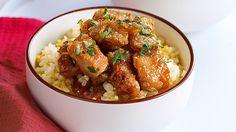 Honey-Ginger Pork and Chorizo Rice Recipe