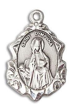 DiamondJewelryNY Sterling Silver Virgen del Lourdes Pendant