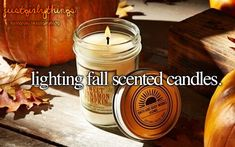 Lighting Fall scented candles ~ just girly things