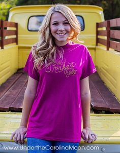 2015 Be Thankful Y'all Under the Carolina Moon T-shirt | underthecarolinamoon.com