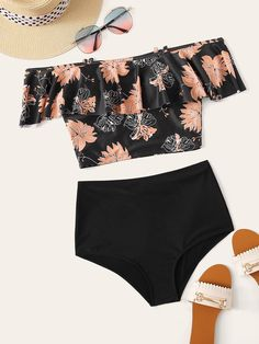 2020 Women Swimsuits Bikini One Piece Swimsuit With Adjustable Straps Net Panty High Waisted Thong Bathing Suits Ladies One Piece Suit Bathing Suits Cheeky, Bathing Suits For Teens, Summer Bathing Suits, High Waist Bathing Suits, High Waist Swimsuit, Jugend Mode Outfits, Bikini Outfits, Teen Fashion Outfits, Fashion Clothes