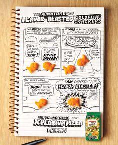 studio jeremyville goldfish crackers illustration pepperidge farm goldfish sketchbok