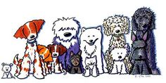 Kiniart: 2005 Paper Pups Art by Kim Niles, (Illustrator of Westie ...