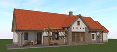 Traditional House, Cabins, Gazebo, Shed, Houses, Outdoor Structures, House Styles, Home Decor, Homes