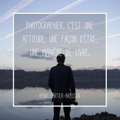 10 citations sur la photographie (Episode 1) Henri Cartier Bresson, Passion Photography, Nikon, Some Words, Photos, Sayings, Movie Posters, Beautiful Images, Lyrics