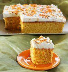 Torta di carote all'arancia - è appunto una ricetta tipica norvegese con la deliziosa crema al formaggio come copertura,fresca e facile da preparare piace tanto anche ai bambini