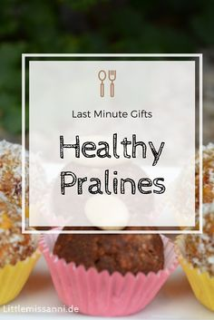 Healthy Treats are always a good idea to have on hand. Learn how to make three easy variations of vegan pralines that are actually healthful!