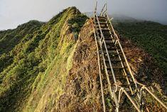 Stairway to Heaven, Marine Corps Base,  O'ahu Hawaii