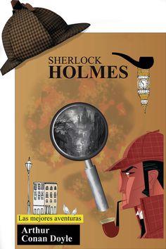 Laboratorio Gráfica_Afiche sherlock Holmes_Imagenes tomadas de google, pinterest