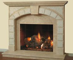 Natural stone fireplace surrounds 25 ideas inspiration in natural stone fireplace surrounds