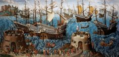 The Embarkation of Henry VIII at Dover | The Royal Collection