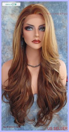 Lace Front Wig CLR FS8.27.613 LONG FLOWING  WAVES SEXY USA SELLER FAST SHIP 182   Health & Beauty, Hair Care & Styling, Hair Extensions & Wigs   eBay!