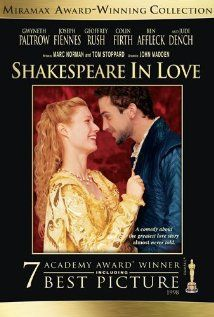 Shakespeare In Love: A young Shakespeare, out of ideas and short of cash, meets his ideal woman and is inspired to write one of his most famous plays. Stars: Gwyneth Paltrow, Joseph Fiennes and Geoffrey Rush Streaming Vf, Streaming Movies, Hd Movies, Film Movie, Oscar Movies, Romance Movies, Drama Movies, Action Movies, Shakespeare In Love