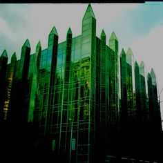 PPG Glass building, Pittsburgh. Designed by Phillip Johnson.