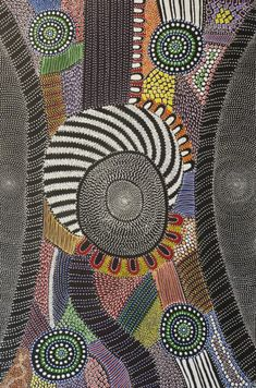 Amazing Australian Aboriginal Artwork by Anna Price Petyarre / My Country is the title of the painting.