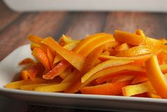 Candied Orange Peel perfect this time of year when oranges are abundant and delicious, don't miss out on the flavorful citrus syrup as a bonus recipe for cocktails and drinks.
