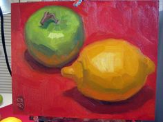 painting of lemon - Google Search